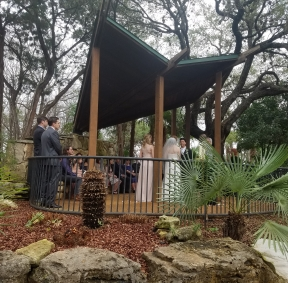 Overlook in the Zilker Botanical Garden - Wedding Location