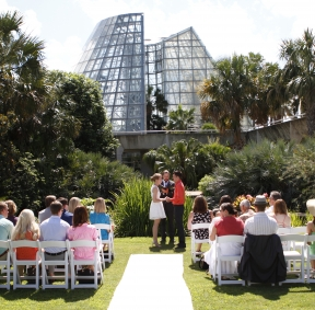 San Antonio Botanical Garden - Wedding Location