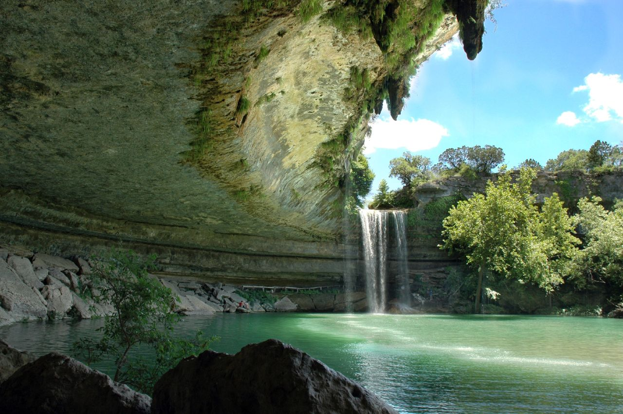 Hamilton pool for Best places to get married in austin