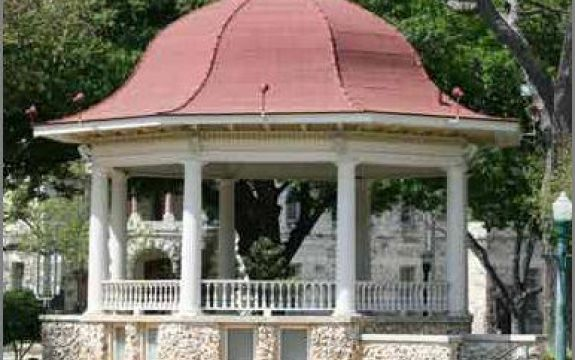 New Braunfels Downtown Gazebo Small Wedding Venue