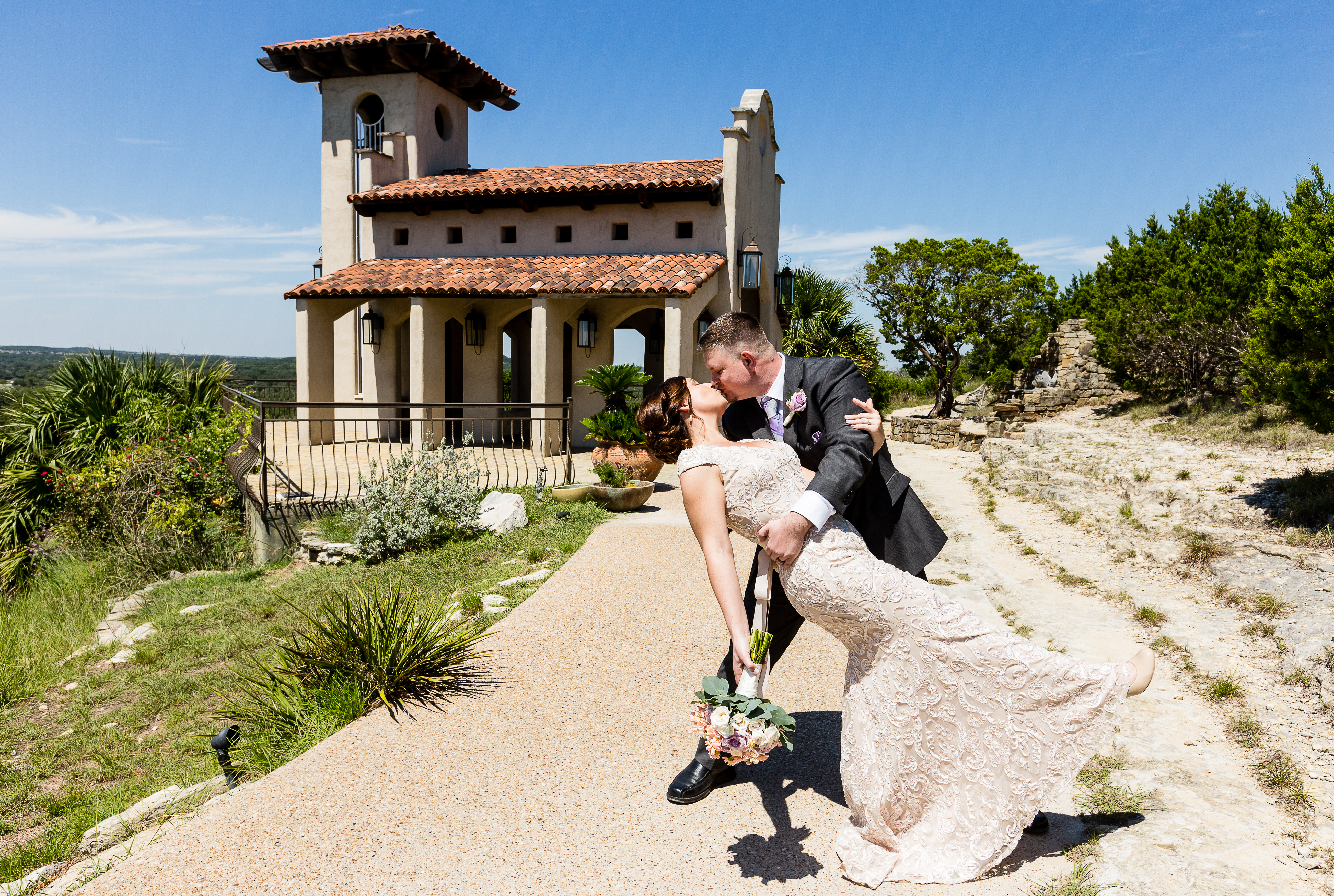Chapel dulcinea ceremony reception venue known as the free wedding chapel chapel dulcinea in south austin sits on a cliff overlooking austins hill country at wizard academy junglespirit Image collections